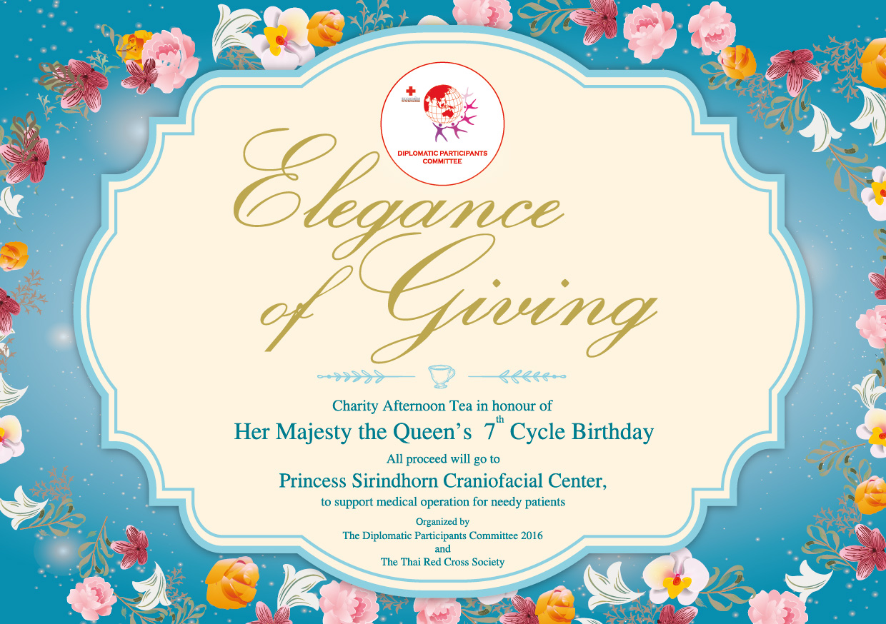 Elegance of Giving: afternoon tea